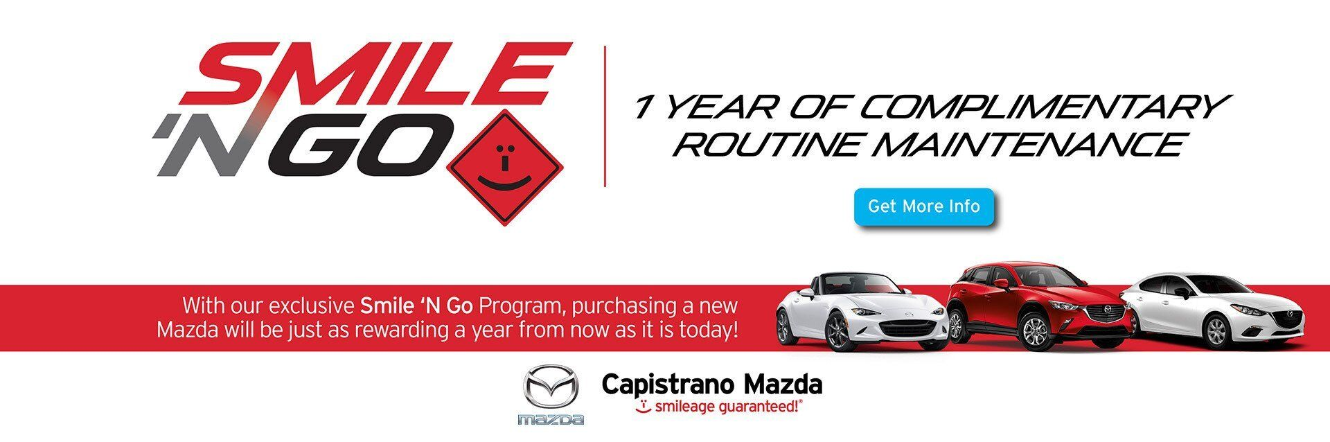 Capistrano Mazda Exclusive Program - Smile 'N Go