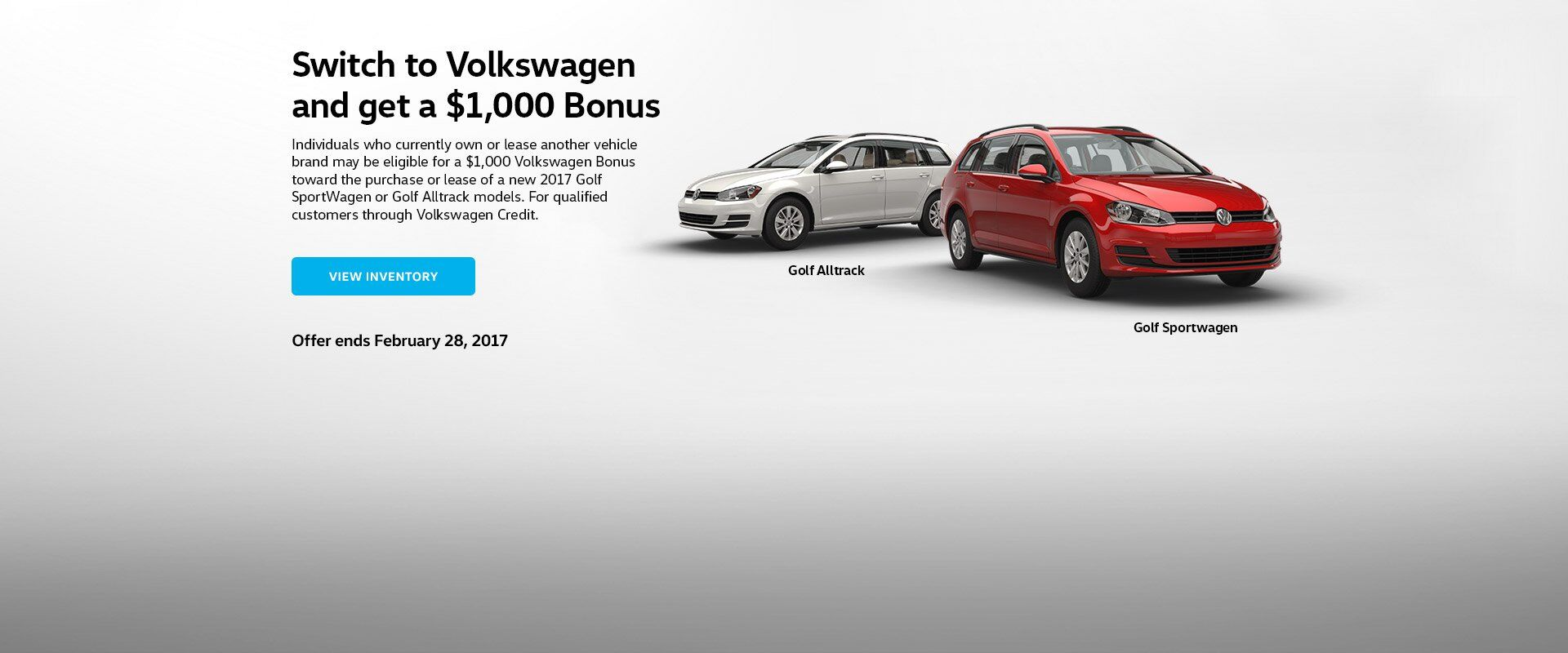 VW Conquest Bonus