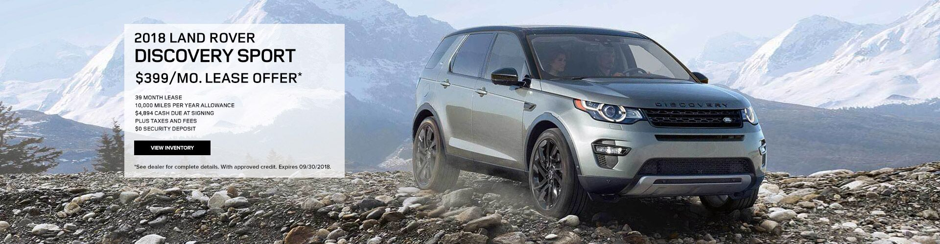 2018 LR Discovery Sport