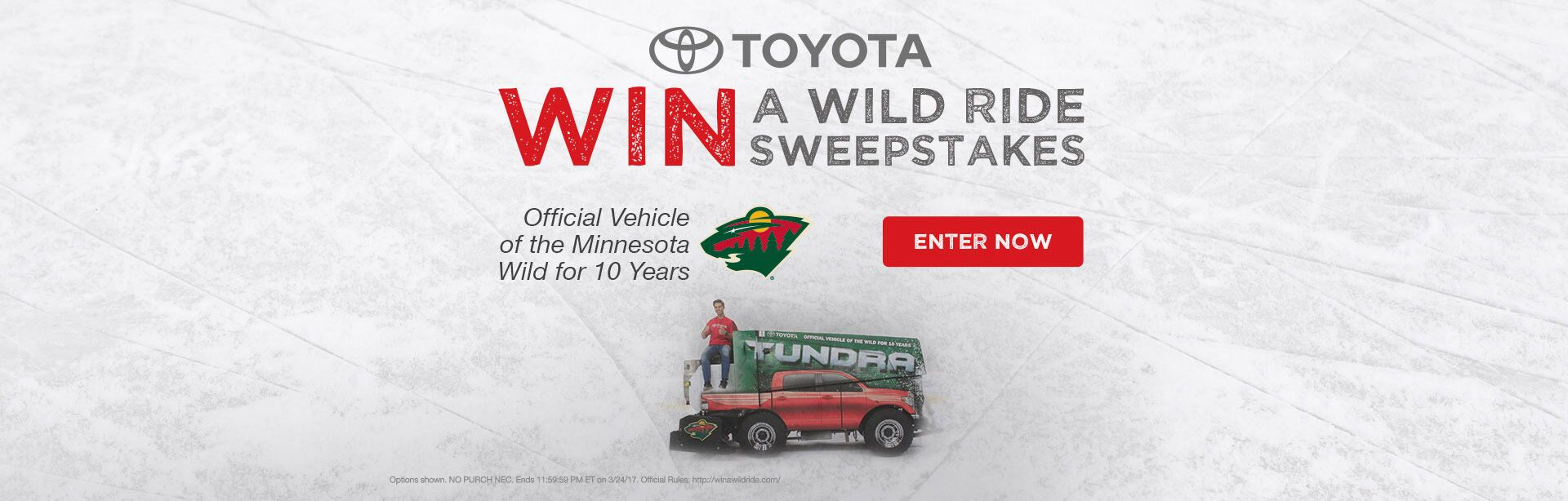 Wild Ride Sweepstakes