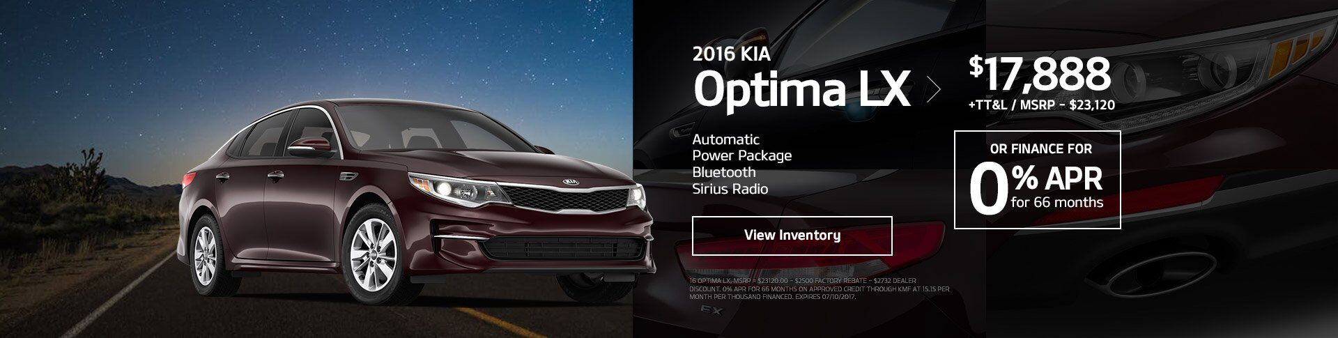 May Optima Special