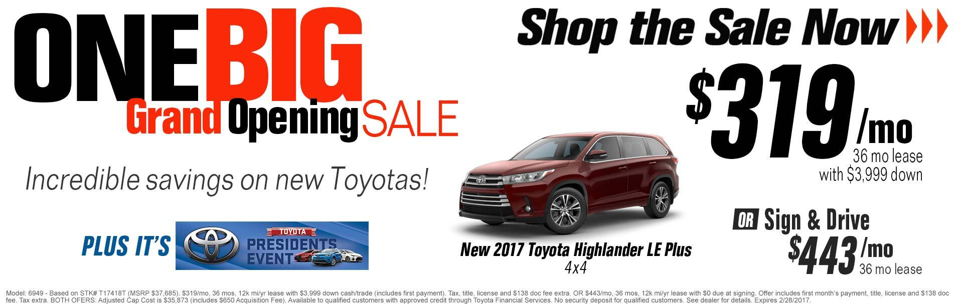 2017 Toyota Highlander LE Plus 4x4