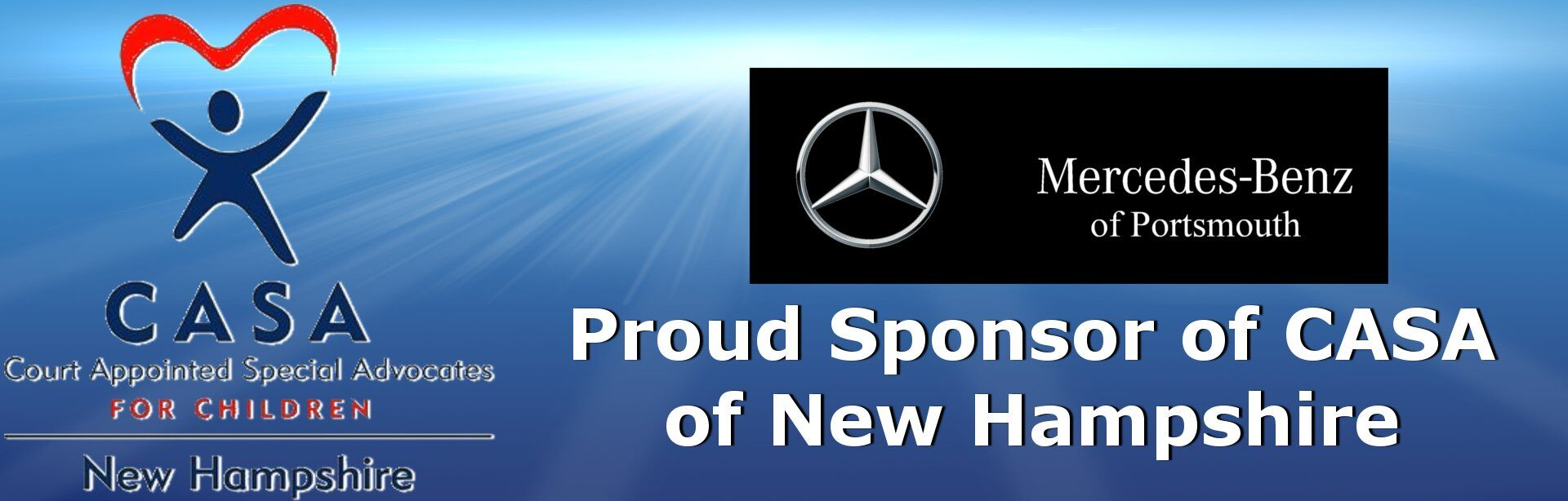 Proud Sponsor of CASA of New Hampshire