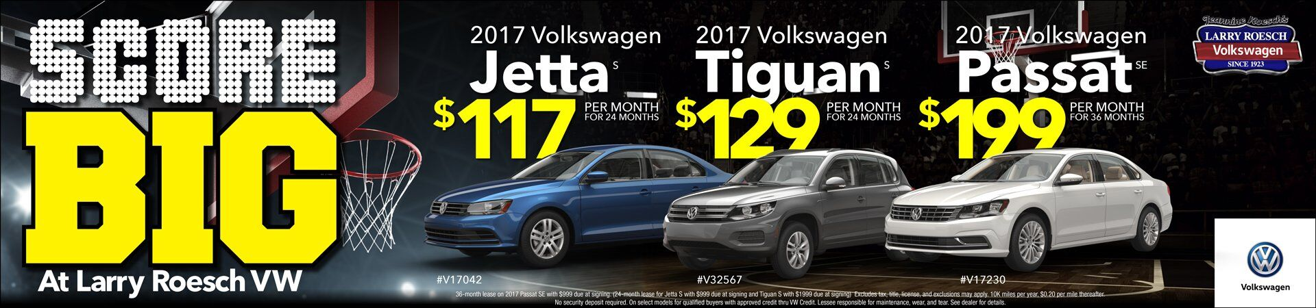 VW Lease Prices 2