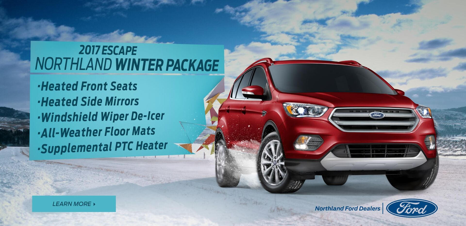 2017 Escape Winter Package