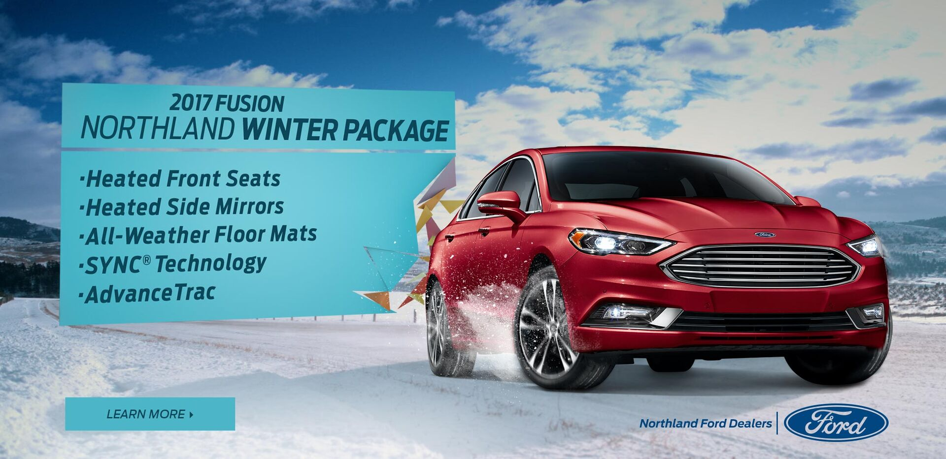 2017 Fusion Winter Package