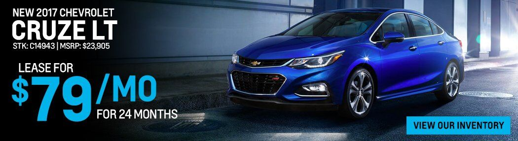 New 2017 Chevrolet Cruze sale Rochester NY