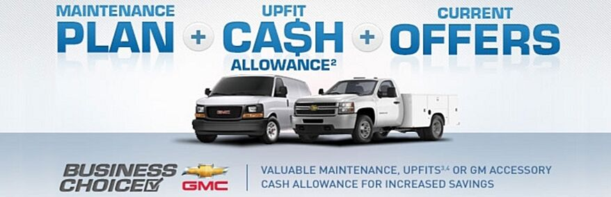 Maintenance Plan | Upfit Cash Allowance | Current Offers