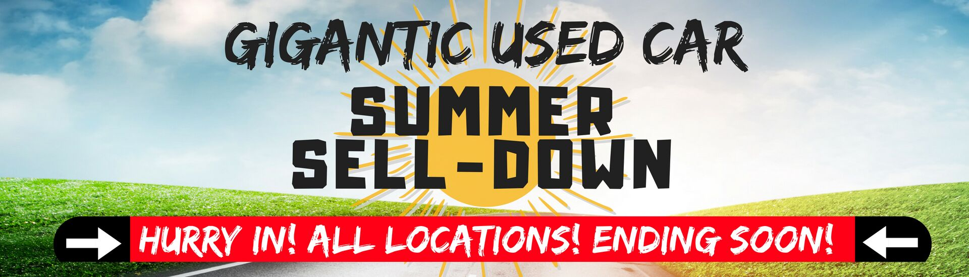 Used Car Summer Sell-Down!