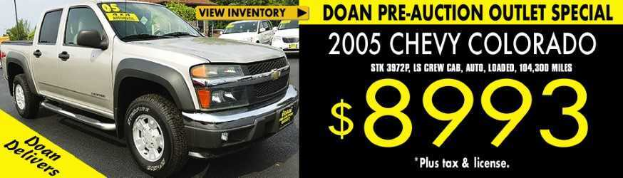 Doan Pre Auction Outlet - Weekly Special