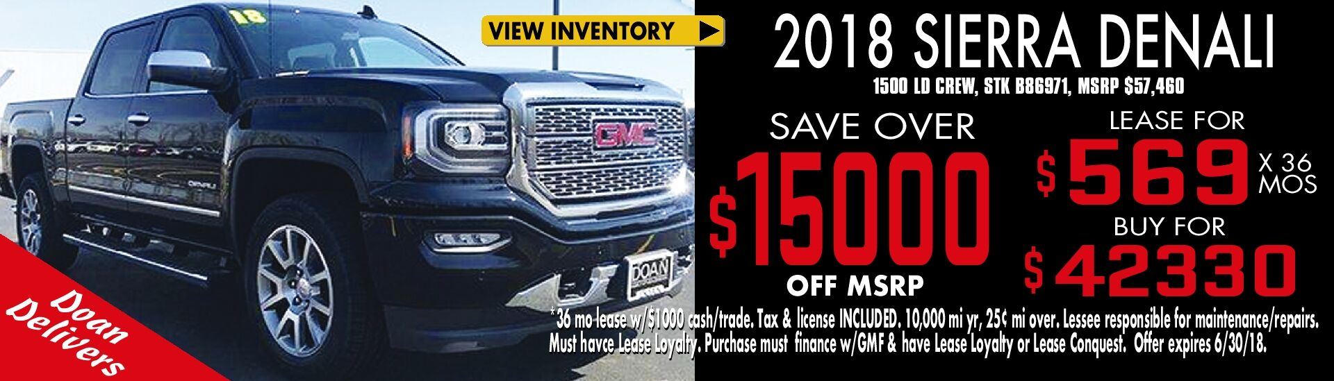 Save on Denali!