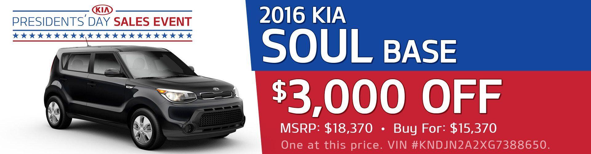 2016 Kia Soul Base