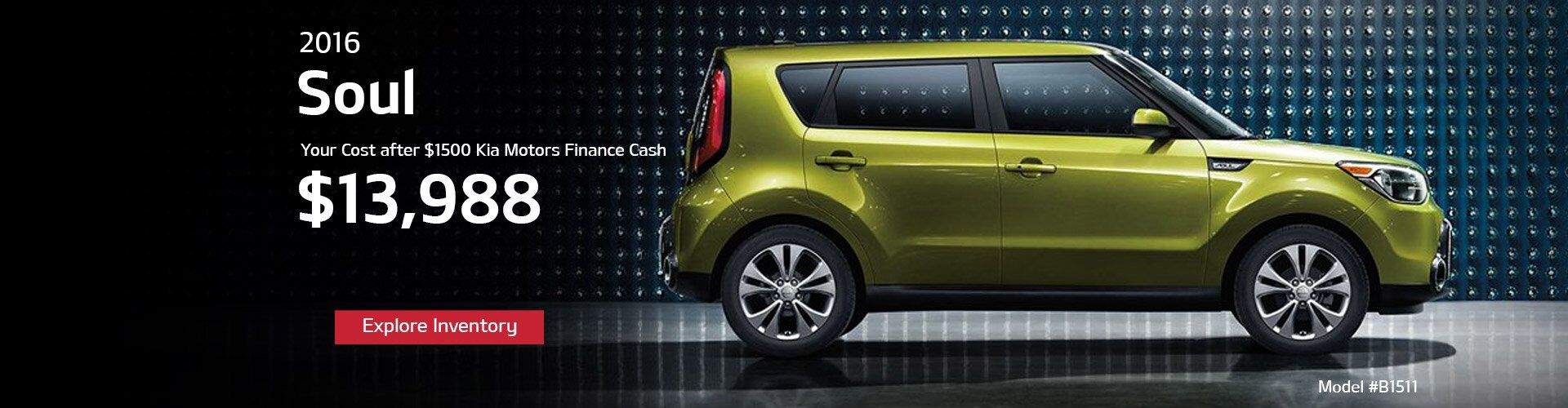 New Kia Soul at MY Kia