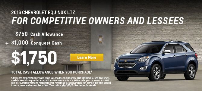 2016 Chevy Equinox LTZ