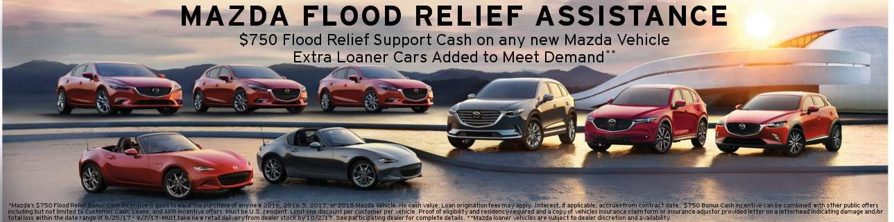 Mazda Flood Relief Assistance