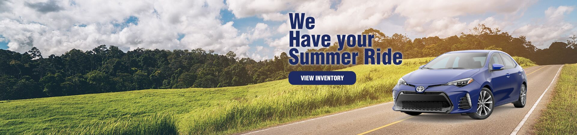 We have your summer ride
