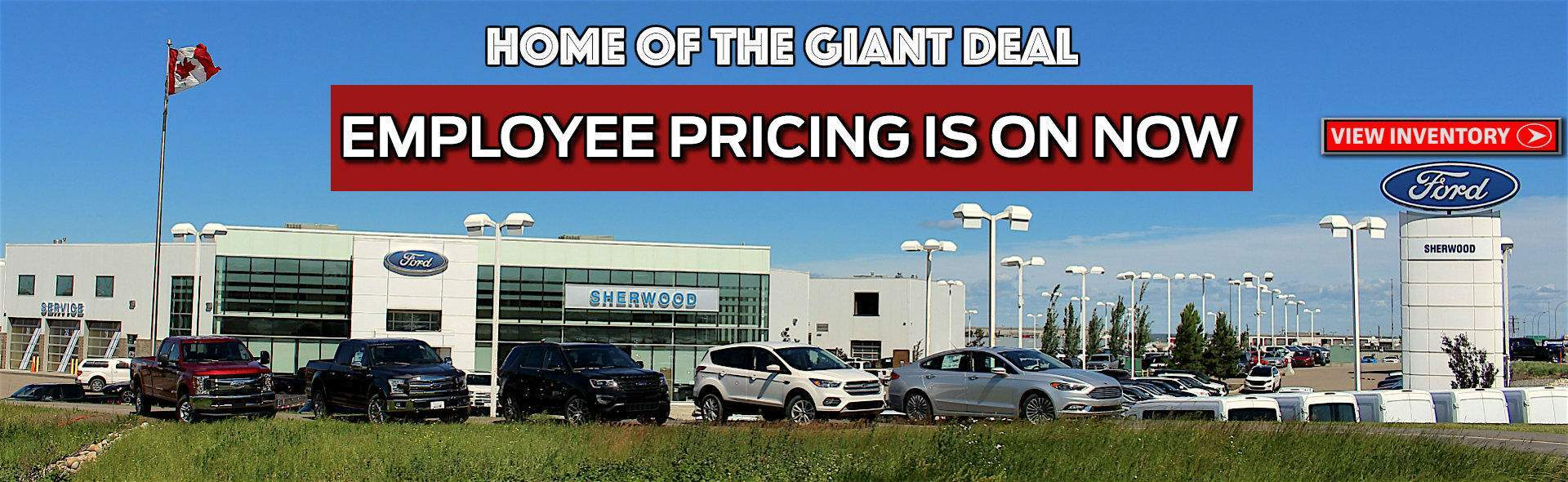 Sherwood Ford Ford Canada Employee Pricing