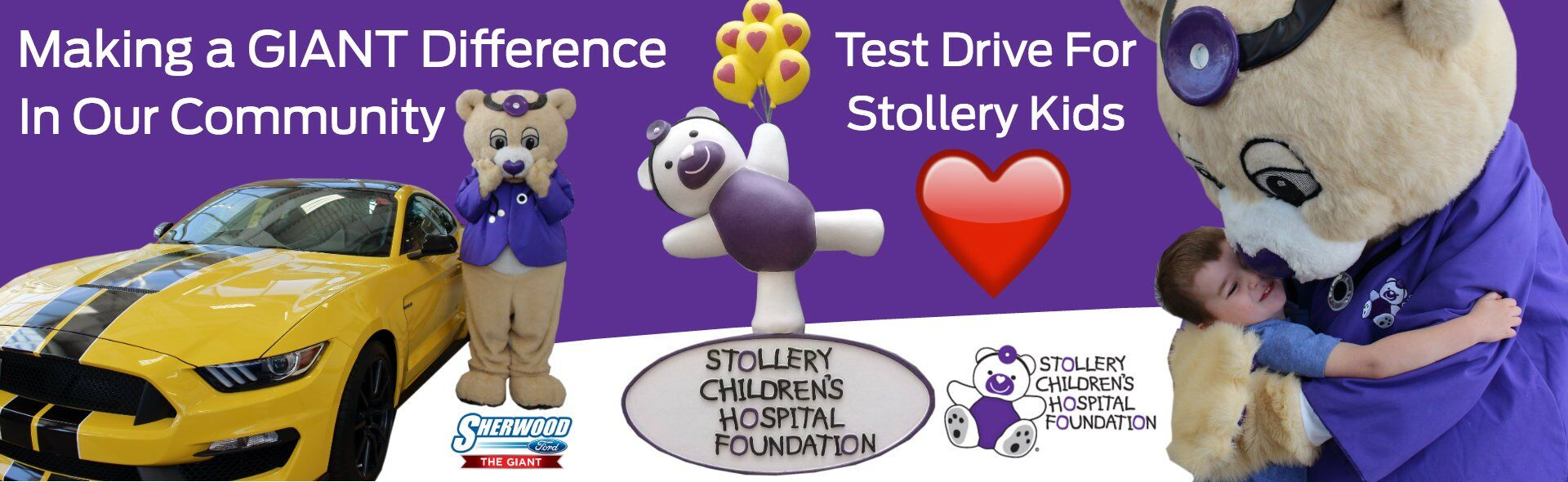 Title Sherwood Ford Stollery Kids Campaign