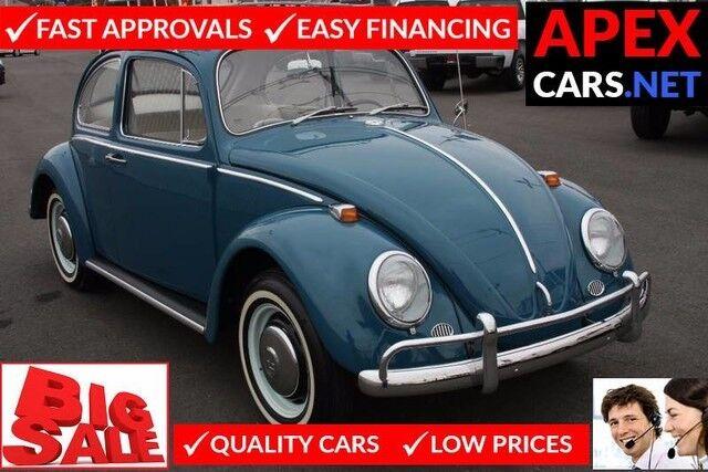 1966 Volkswagen Beetle 2D