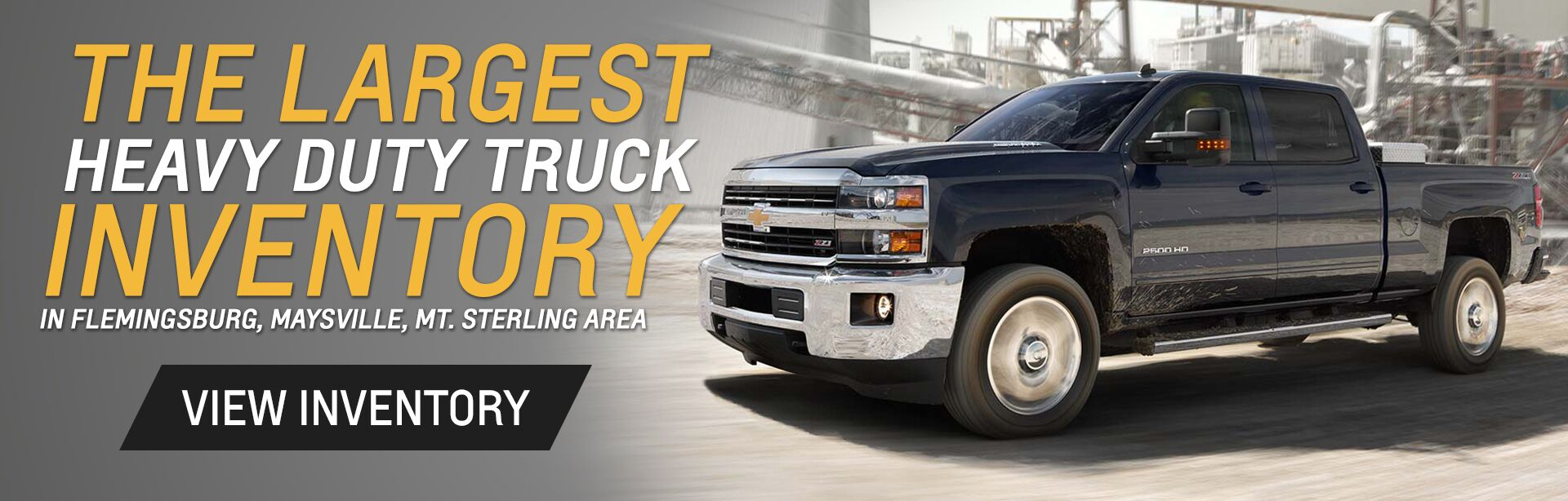 Largest HD Truck Inventory