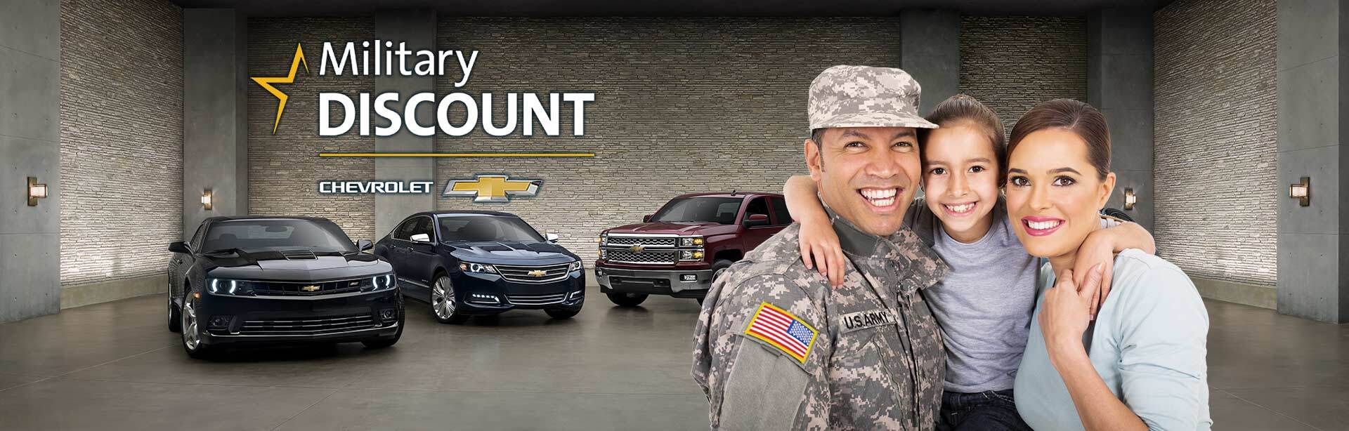 Chevy Military Discount in Flemingsburg, KY | Cheap Chevrolet