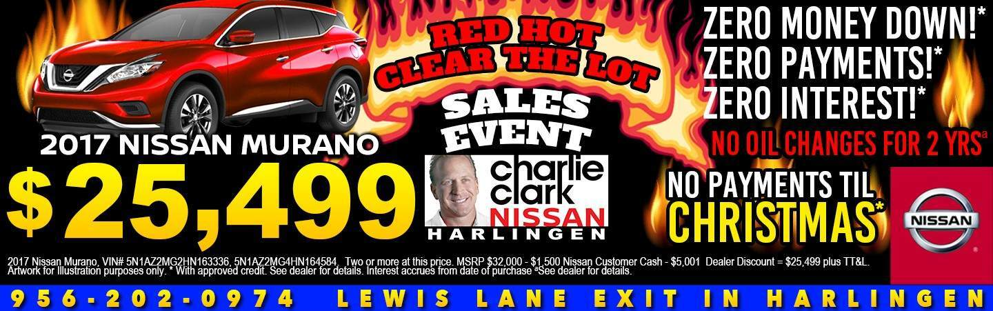 Nissan Dealership Harlingen Tx Used Cars Charlie Clark