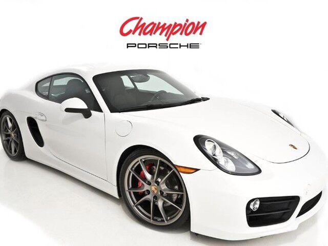 2016 Porsche DEMO SALE Cayman S