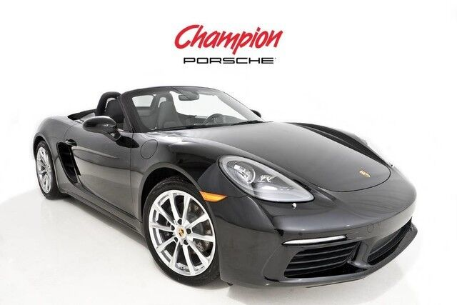 2017 Porsche DEMO SALE 718 Boxster