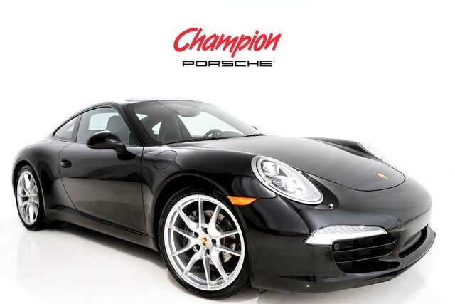 2016 Porsche DEMO SALE 911 Black Edition