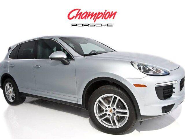 2016 Porsche DEMO SALE Cayenne
