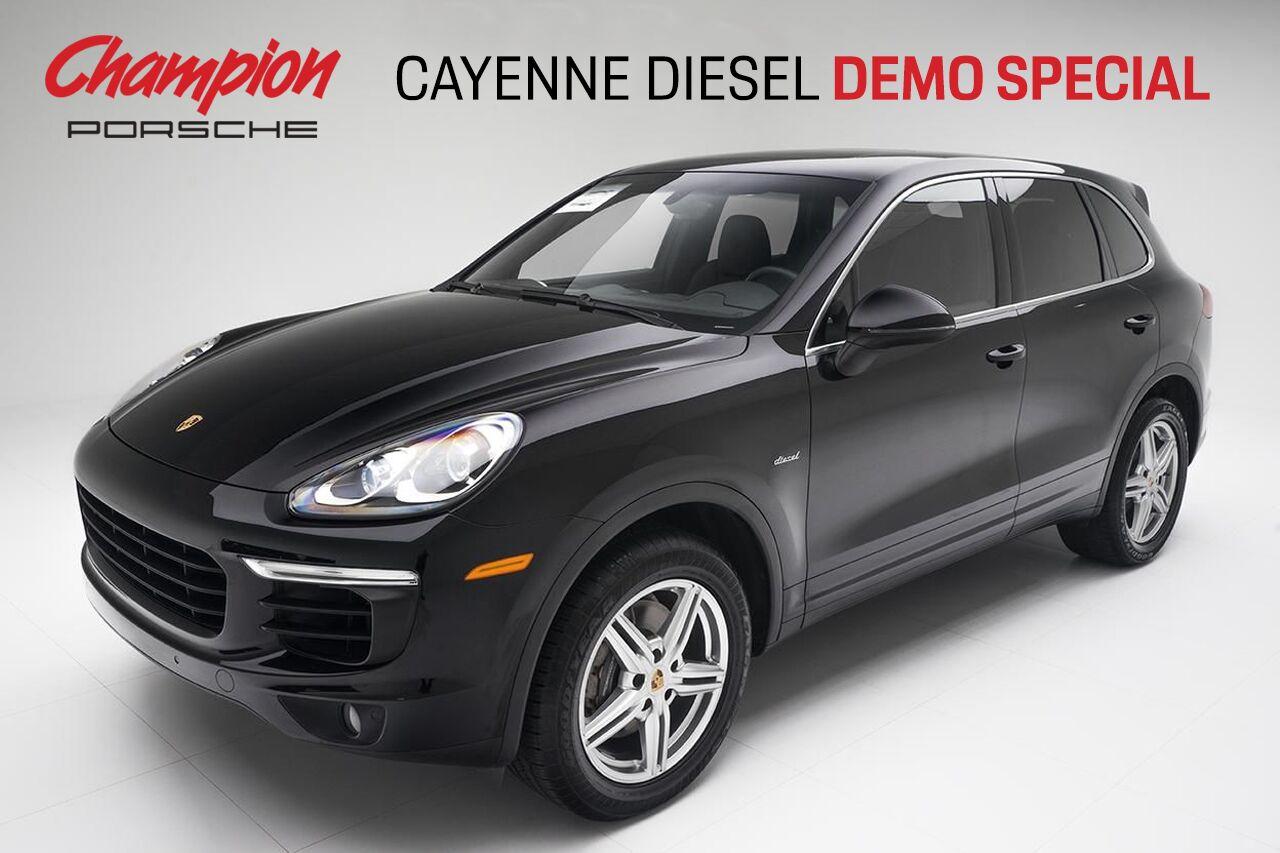 DEMO SALE Cayenne Diesel