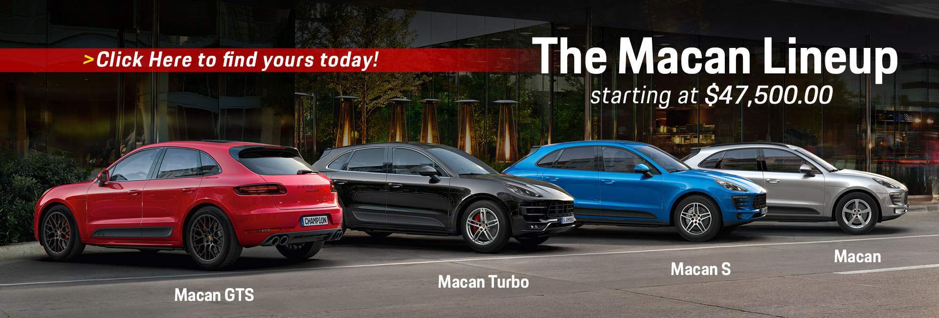 The Macan Lineup