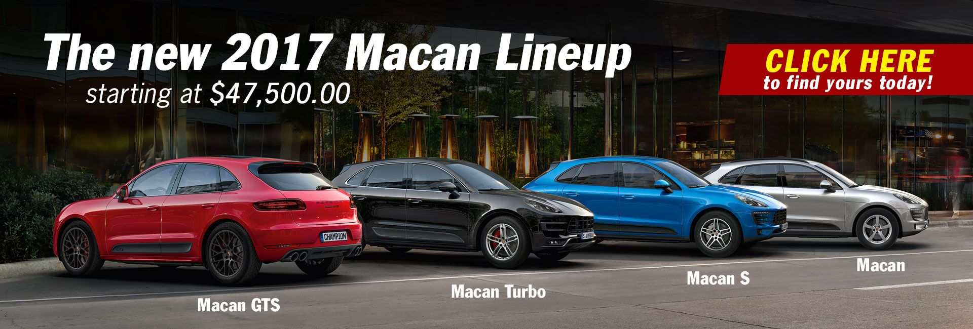 The New 2017 Macan Lineup