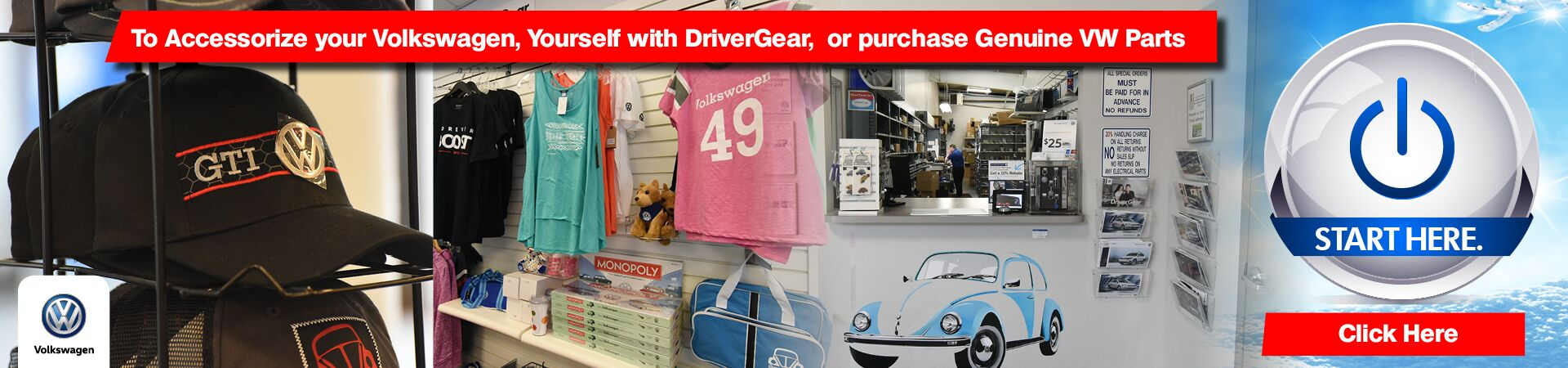 April DriverGear and VW Parts
