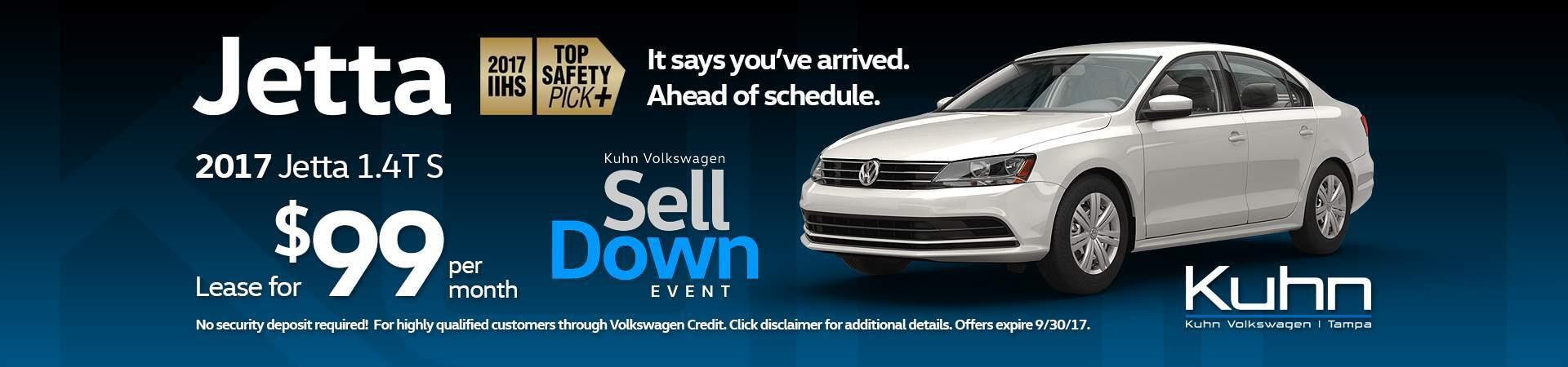Jetta Lease $99 >> Volkswagen Dealership Tampa FL Used Cars Kuhn Volkswagen