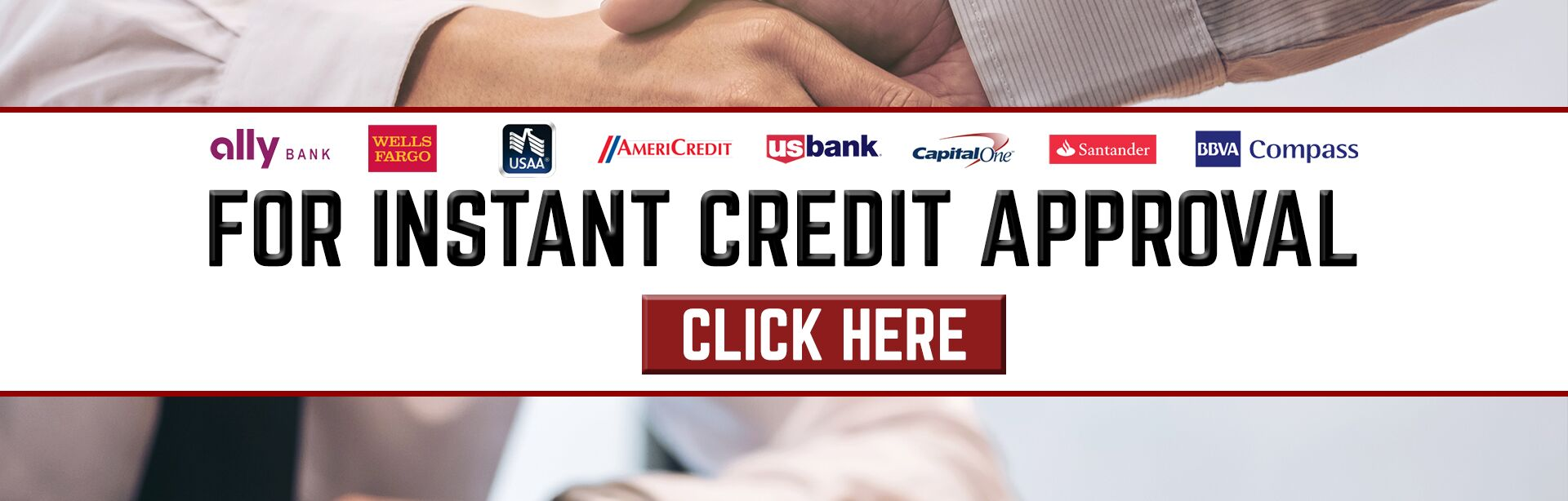 Instant Credit Approval
