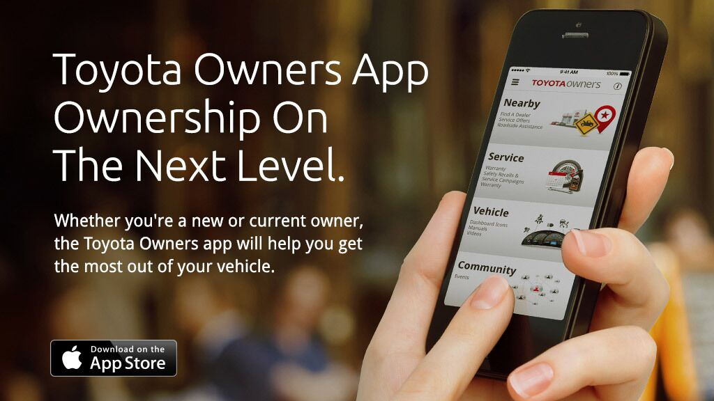 Toyota Owners Mobile App