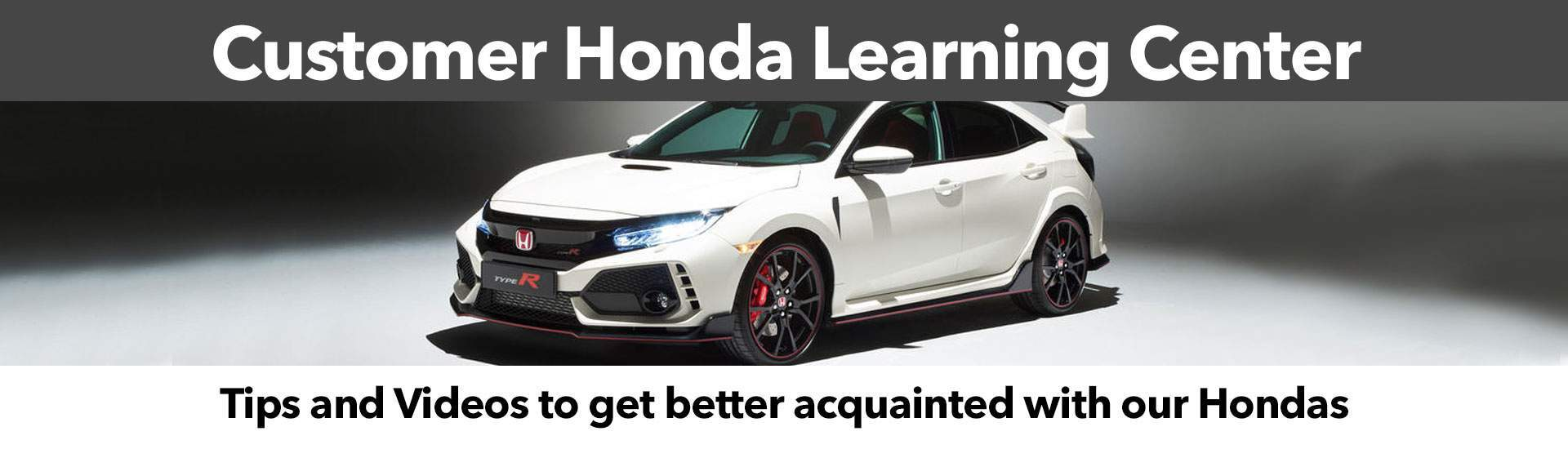 Customer Honda Learning Center