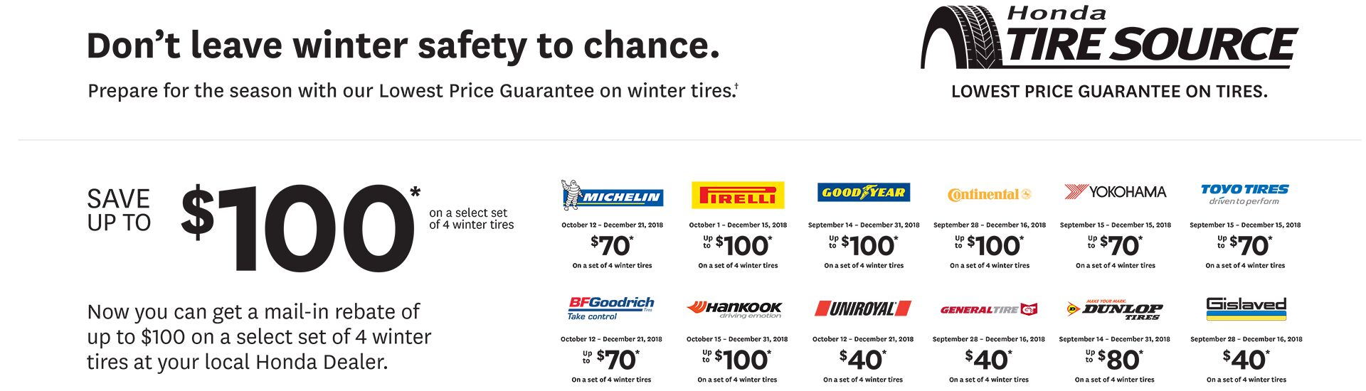 Tire Promotion