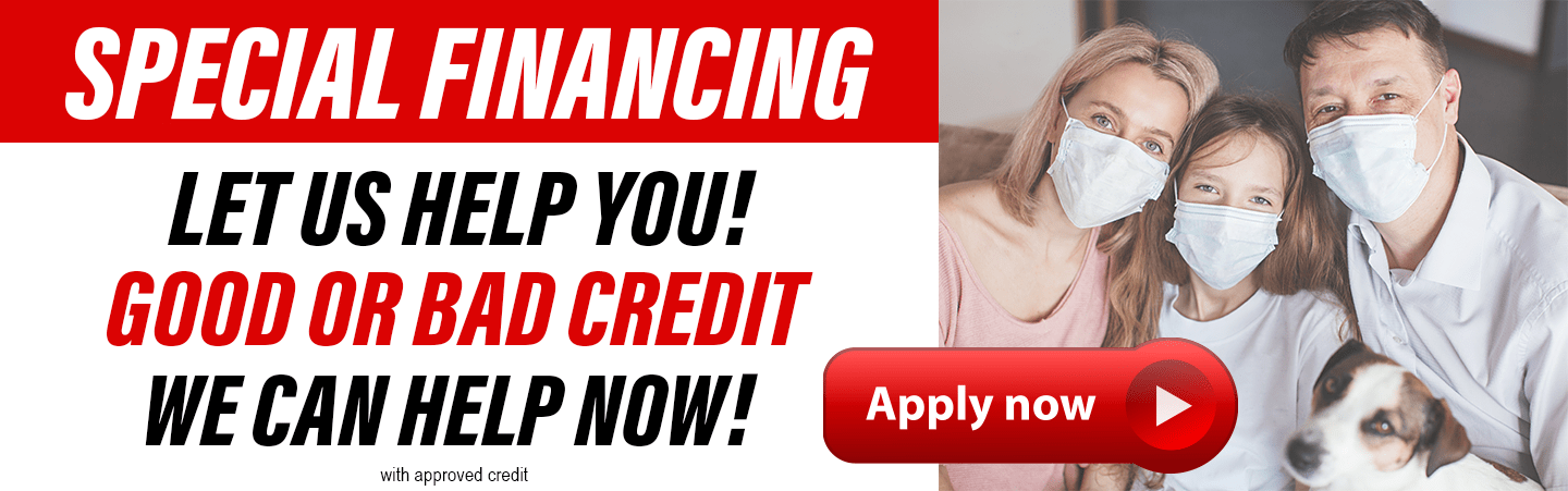 SPECIAL FINANCING APPLY NOW