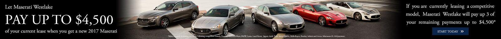 Maserati - $4,500