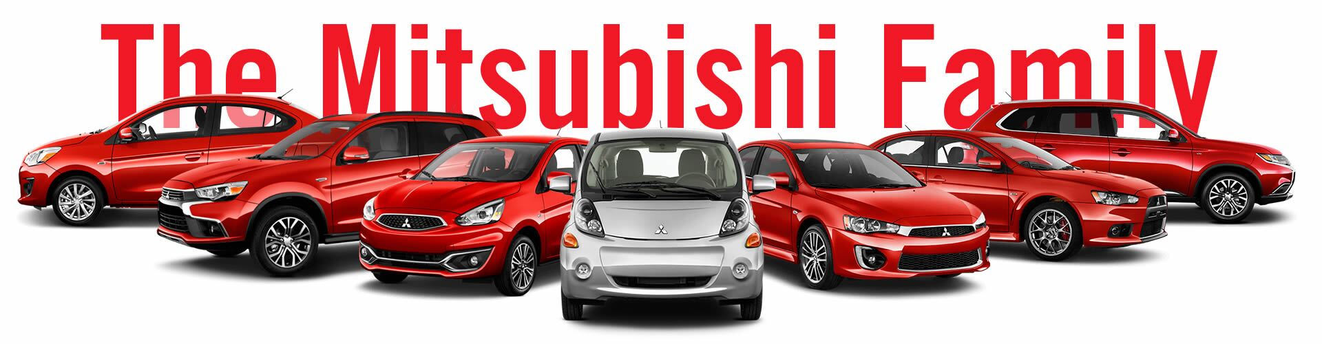 Meet The Mitsubishi Family