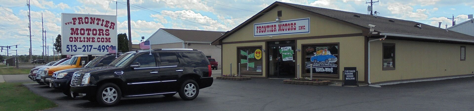 used car dealership middletown oh frontier motors inc