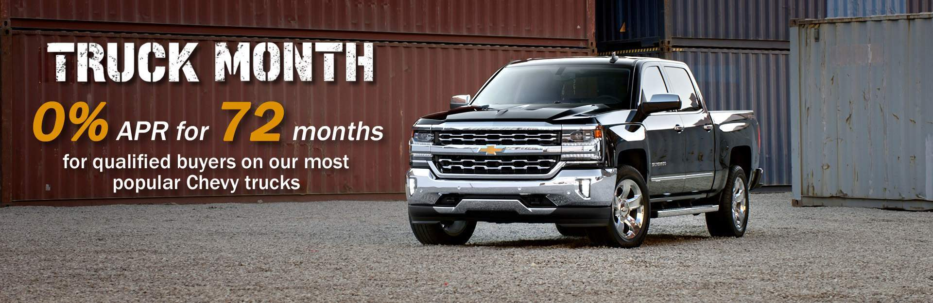 October 2017 Truck Month