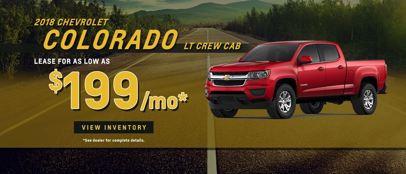 2018 Colorado Lease Special