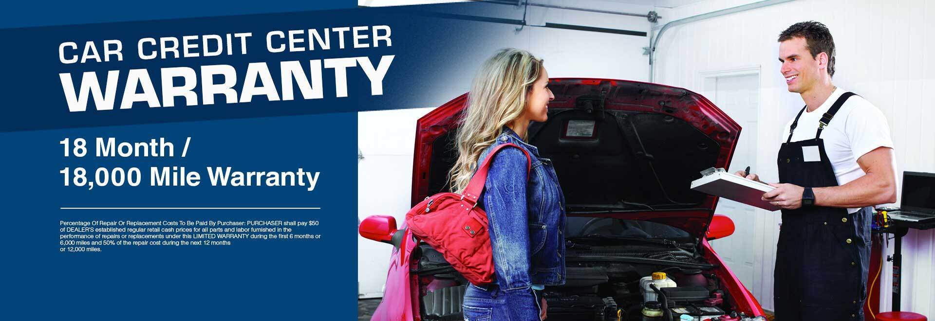 Car Credit Center Warranty