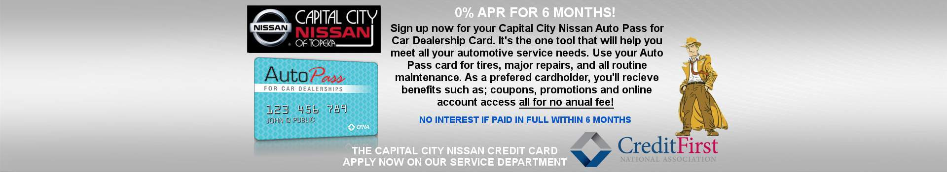 Welcome to Capital City Nissan of Topeka