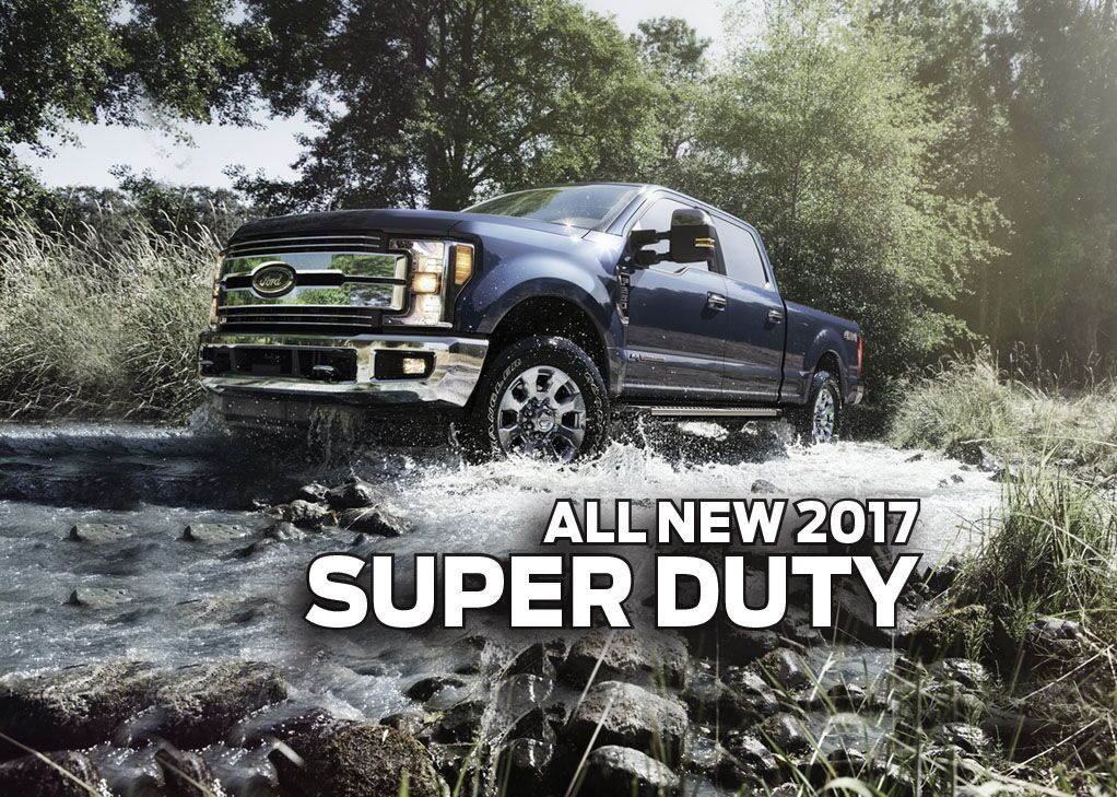 All-New 2017 Super Duty