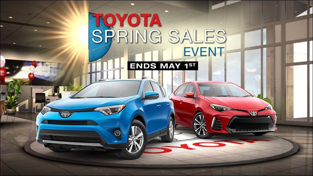 April Spring Sales Event