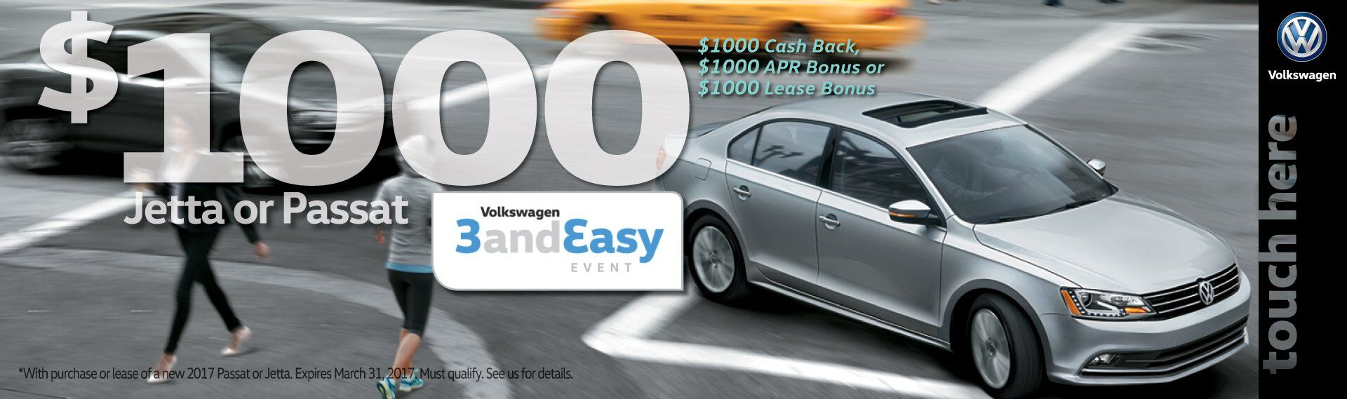 VW 3 and Easy Sales event